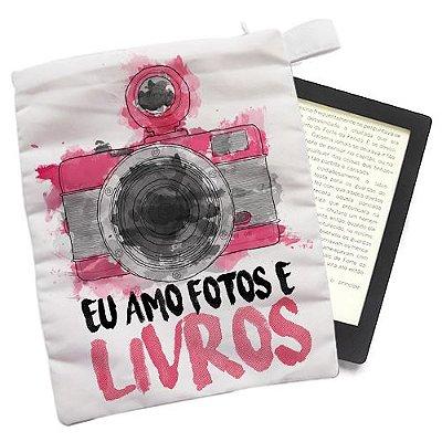 Capinha - Eu amo fotos e livros