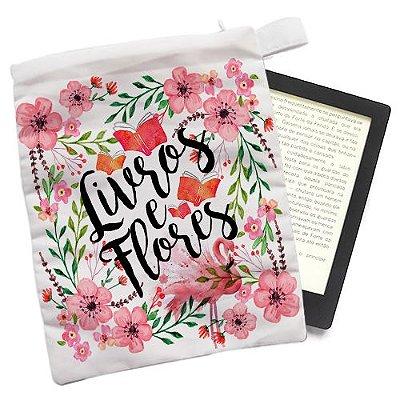Capinha - Livros e Flores