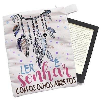 Capinha - Ler é sonhar de olhos Abertos