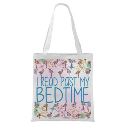 Ecobag - I read past my Bedtime