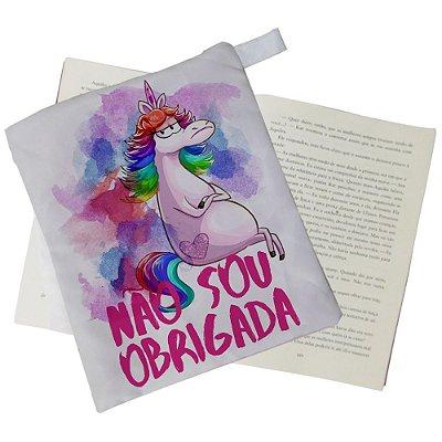 Capinha Livro - Não sou Obrigada