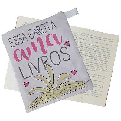 Capinha Livro - Essa garota ama Livros