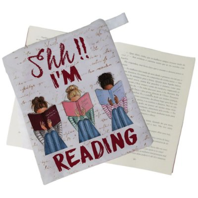 Capinha Livro - Shh, I'm Reading