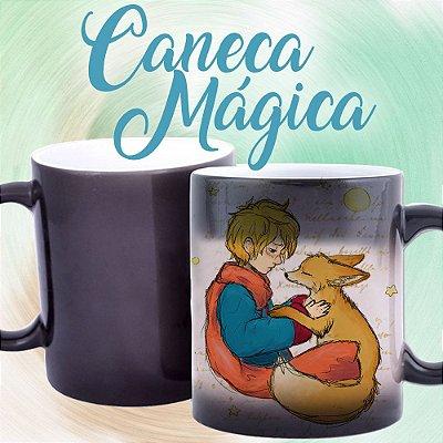 Caneca Mágica - Pequeno Príncipe e a Raposa