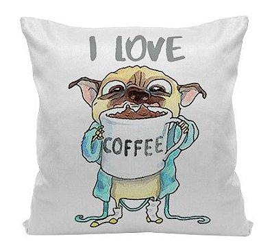 Almofada - Eu amo Café
