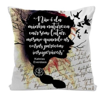 Almofada - Jogo Vorazes - Katniss Everdeen