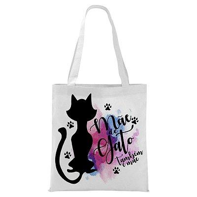 Ecobag - Mãe de gato também é Mãe