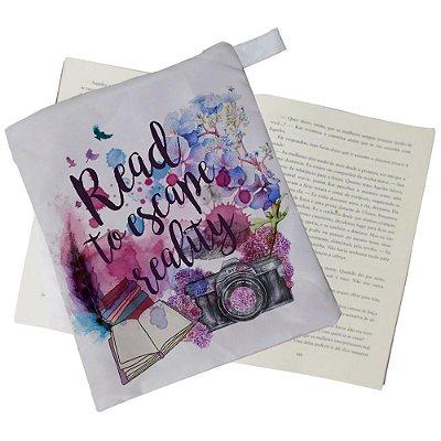 Capinha Livro - Read to Escape