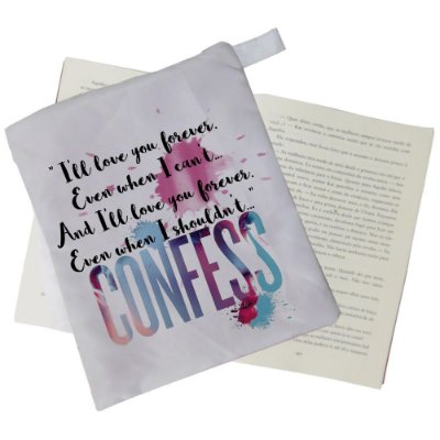 Capinha Livro - Confess