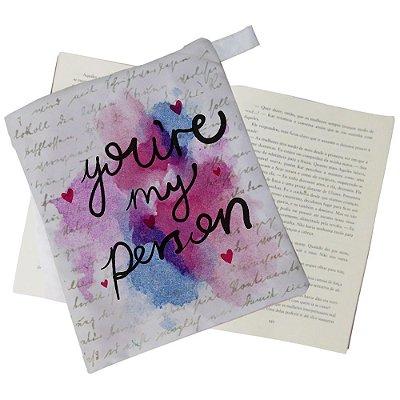 Capinha Livro - You're my Person - Aquarela