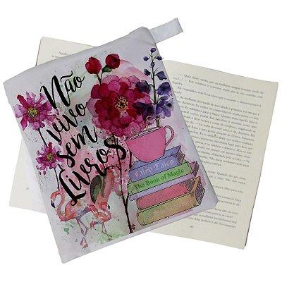 Capinha Livro - Não vivo sem Livros