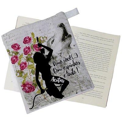 Capinha Livro - A corte de espinhos e Rosas