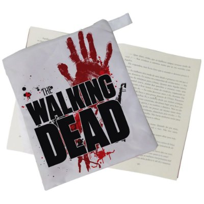 Capinha Livro - The Walking Dead