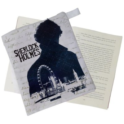 Capinha Livro - Sherlock holmes