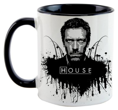 Caneca - House - Black