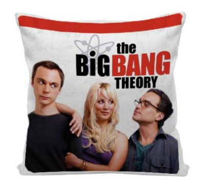 Almofada - Série The Big Bang Theory  - Red