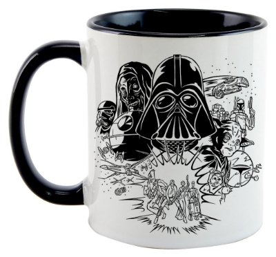 Caneca - Star Wars - Personagens