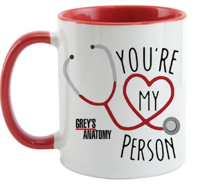 Caneca - You're my Person - Red