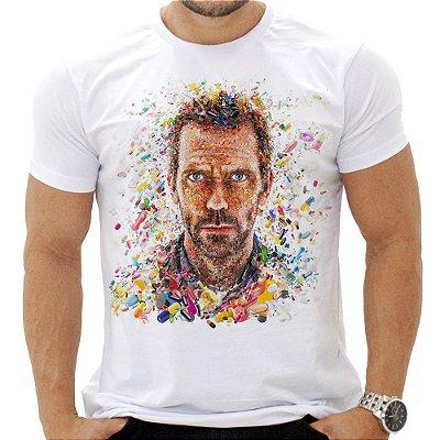 Camiseta Masculina - House - Pílulas
