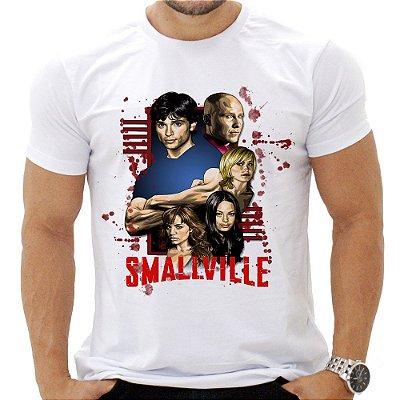 Camiseta Masculina - Smallville