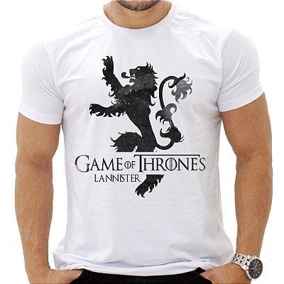 Camiseta Masculina - Gameof Thrones - Casa Lannister