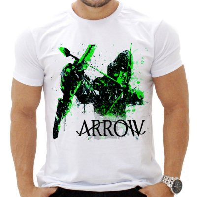Camiseta Masculina - Arrow