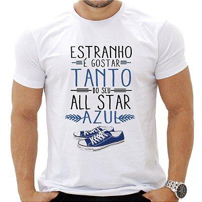 Camiseta Masculina -  Estranho É