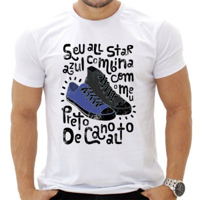 Camiseta Masculina -  Seu All Star