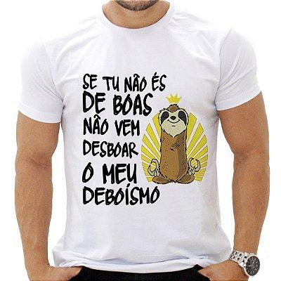 Camiseta Masculina - De Boas