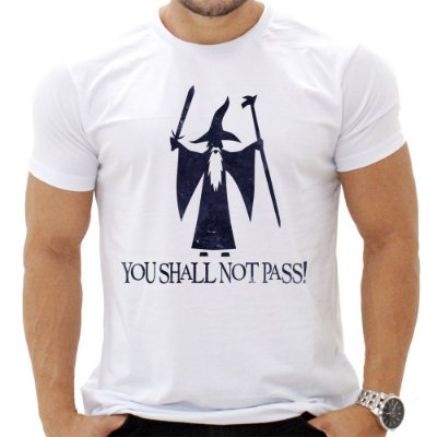 Camiseta Masculina - Not Pass