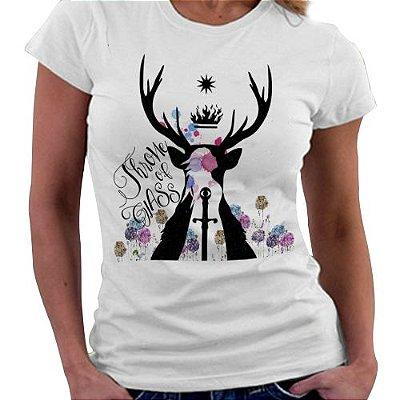 Camiseta Feminina - Trono de Vidro