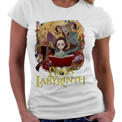 Camiseta Feminina - Pans Labyrinth - Red