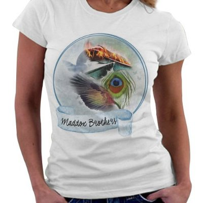 Camiseta Feminina - Irmãos Maddox