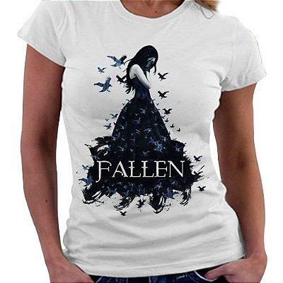 Camiseta Feminina - Livro Fallen