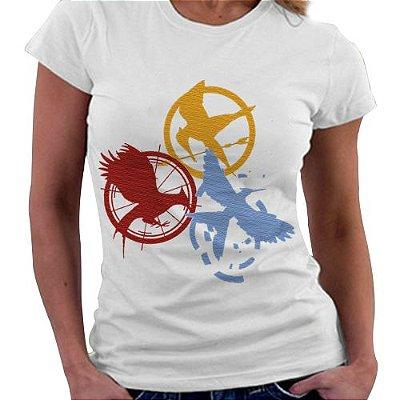 Camiseta Feminina - Jogos Vorazes
