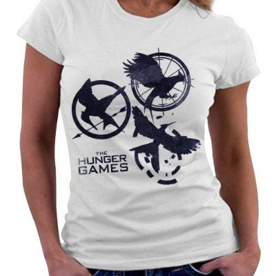Camiseta Feminina - Jogos Vorazes - Black