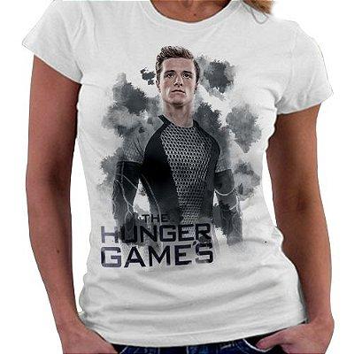 Camiseta Feminina - Jogos Vorazes - Peeta