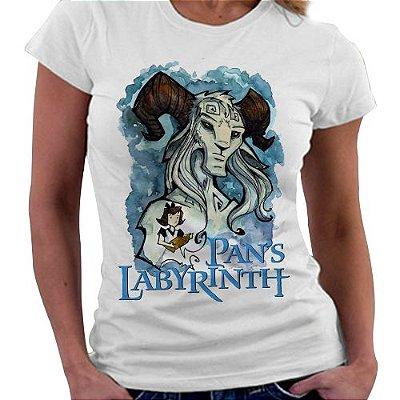 Camiseta Feminina - Pans Labyrinth - Blue