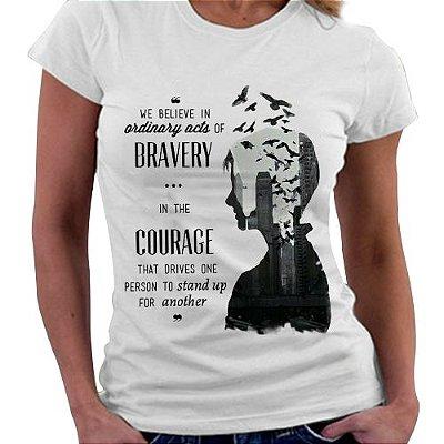 Camiseta Feminina - Divergente - Quote