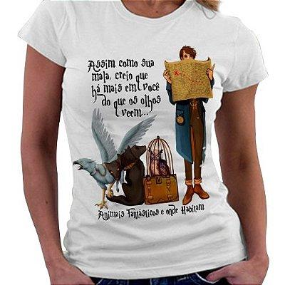 Camiseta Feminina - Animais Fantásticos - Quote