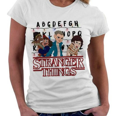 Camiseta Feminina - Stranger Things