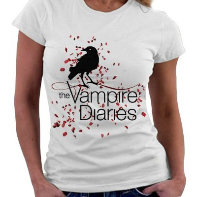 Camiseta Feminina - The Vampire Diaries