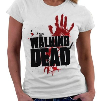 Camiseta Feminina - The Walking Dead - Logo