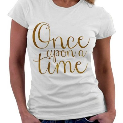 Camiseta Feminina - Once upon a Time