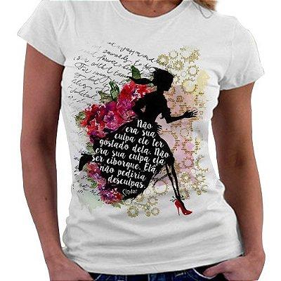 Camiseta Feminina - Livro Cinder