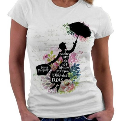 Camiseta Feminina - Mary Poppins