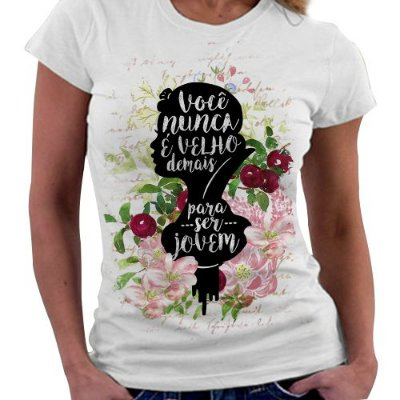 Camiseta Feminina - Branca de Neve