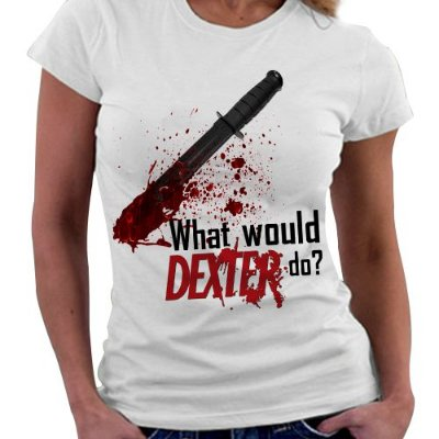 Camiseta Feminina - Dexter - What would do?