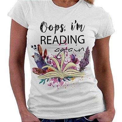Camiseta Feminina - Reading Again