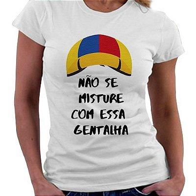 Camiseta Feminina - Chaves - Kiko, não se misture